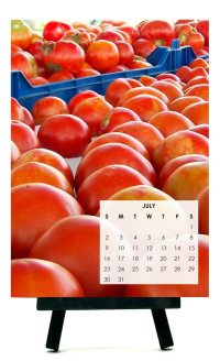 Bucks County Taste 2017 Farm Fresh Desk Calendar
