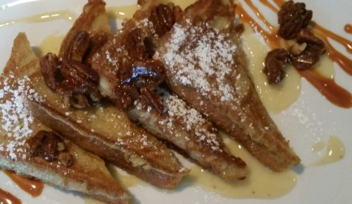 French toast at Tapas On York