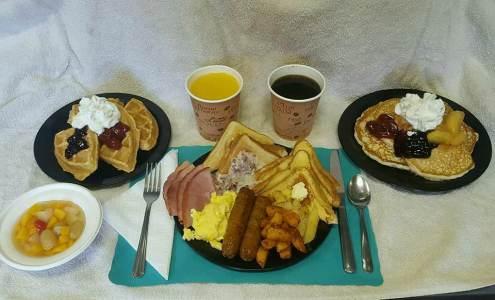 Haycock Fire Company community breakfast