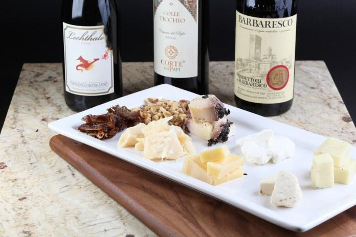 Non Solo Piedmonte wine dinner