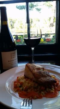 1/2 priced wine with dinner at the Yardley Inn; Bucks County locals nights