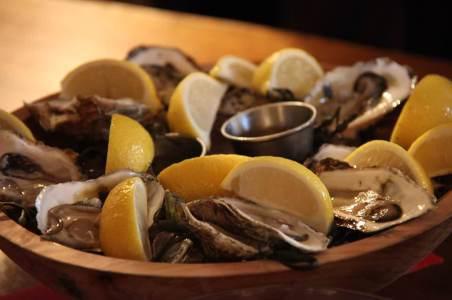 Hamilton's Grill Room Oyster Dinner