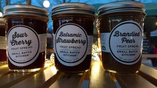 Jams and spreads from Small Batch Kitchen
