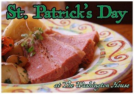St. Patrick's Day at the Washington House