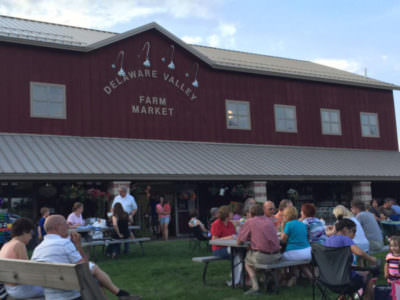 The Market at DelVal, UnWined concert series