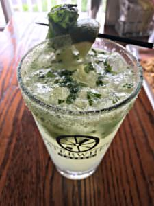 Basil Mojito; photo courtesy Water Wheel Tavern