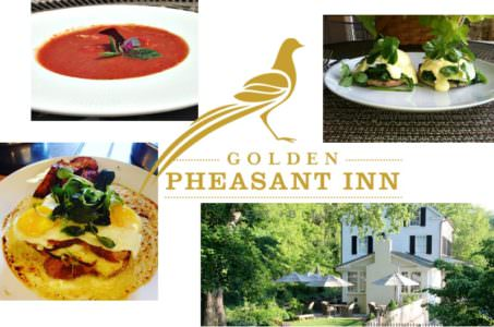 Summer brunch at the Golden Pheasant Inn