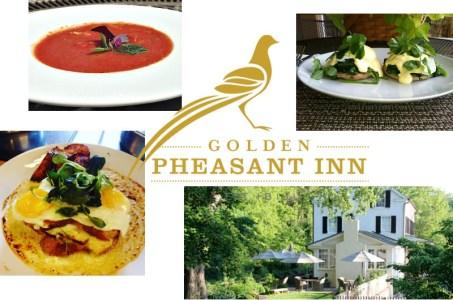 Summer brunch at the Golden Pheasant Inn