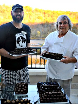Justin Zaslow and Tom Block, Pierre's Chocolates