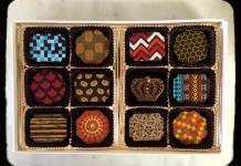 Small batch Ecuadorian and Peruvian chocolates. Photo courtesy Pierre's Chocolates