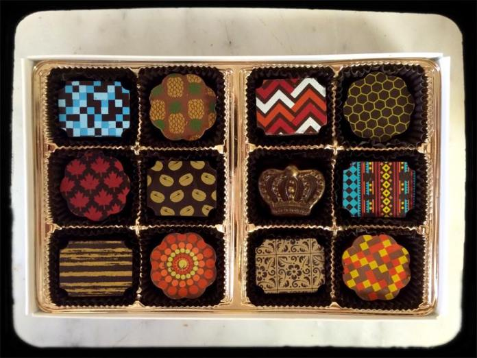 Small batch Ecuadorian and Peruvian chocolates. Photo courtesy Pierre's Chocolates