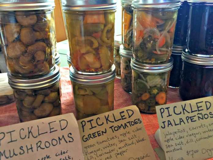 Locktown Farm pickled foods permaculture