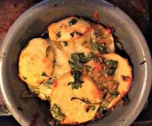 Provencal Potatoes. Photo credit Martine Bertin-Peterson