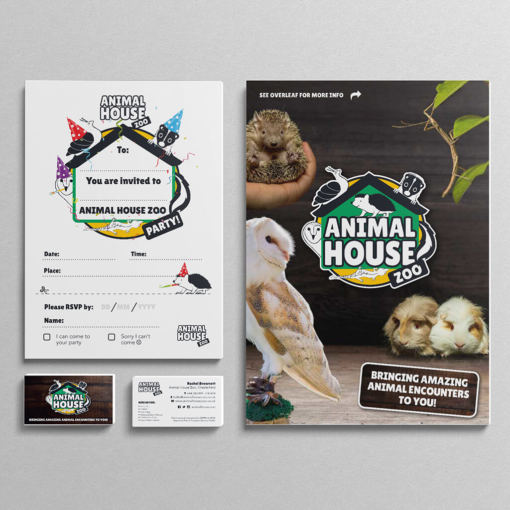 Bucks Creative Brand Identity Animal House