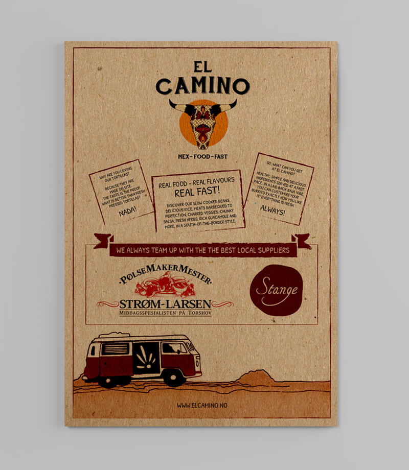Bucks Creative Creative Design Print Restaurants