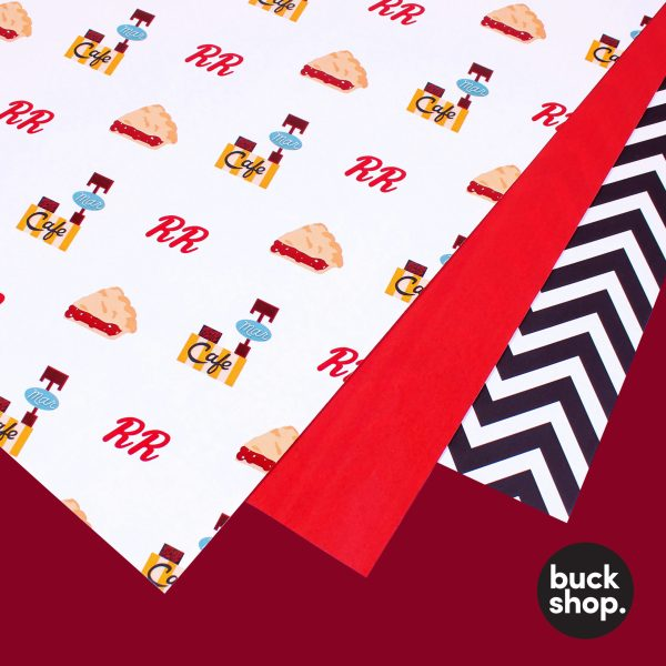 Twin Peaks Wrapping Paper