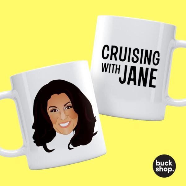 Jane McDonald inspired Personalised Mug