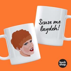 Charity Shop Sue Inspired Personalised Mug