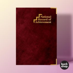 Record of Achievement inspired Greeting Card, Birthday Card