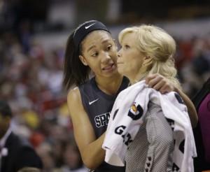 Big Ten women's tournament: Michigan State advances to title game