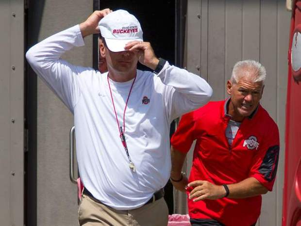 To Do List: Buckeye Special Teams Coaches Kerry Coombs and Urban Meyer