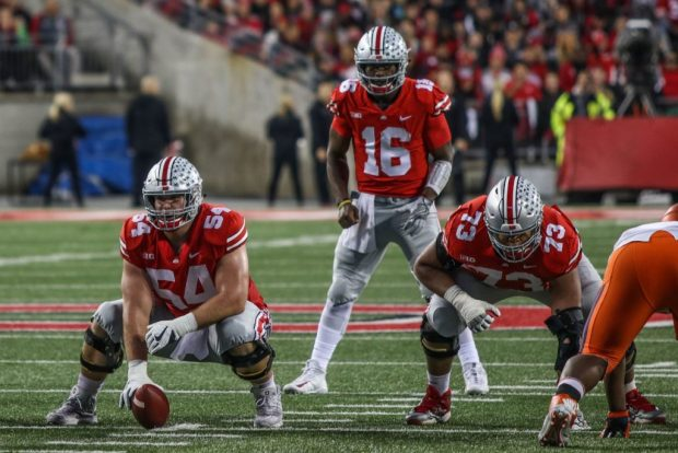 Football: Ohio State offensive line tasked with slowing Michigan's stout defensive line