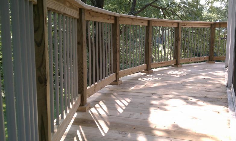 Deck Railing Colors