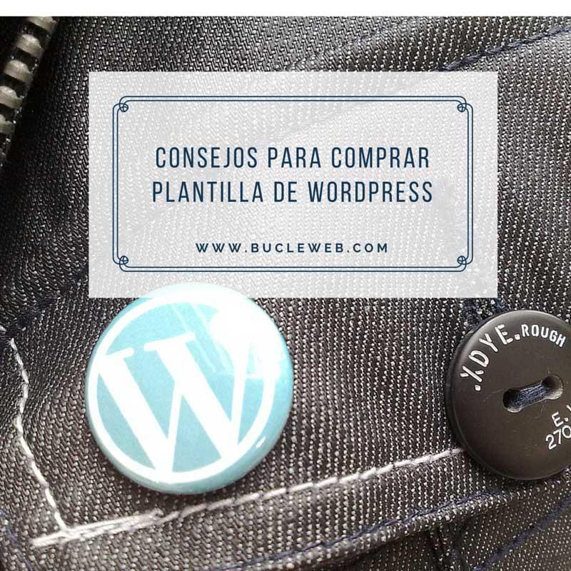 Consejos al comprar una plantilla de WordPress