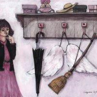 Fetița și cuierul din vis, de Luca-Alexandru Gociu
