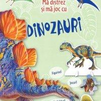 3 cărți interactive cu dinozauri
