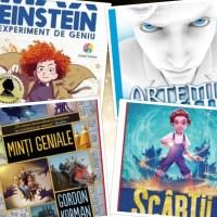 5 cărți care-i vor ține ocupați pe copiii de 10-12 ani