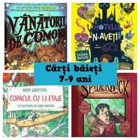Cărți pentru băieți de 7-9 ani