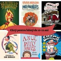 12 cărți perfecte pentru băieții de 10-12 ani
