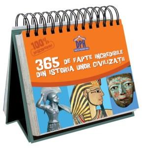 cărți de istorie pentru copii-365 de fapte incredibile din istoria unor civilizatii