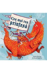 cărți fete-Cea mai rea prințesă