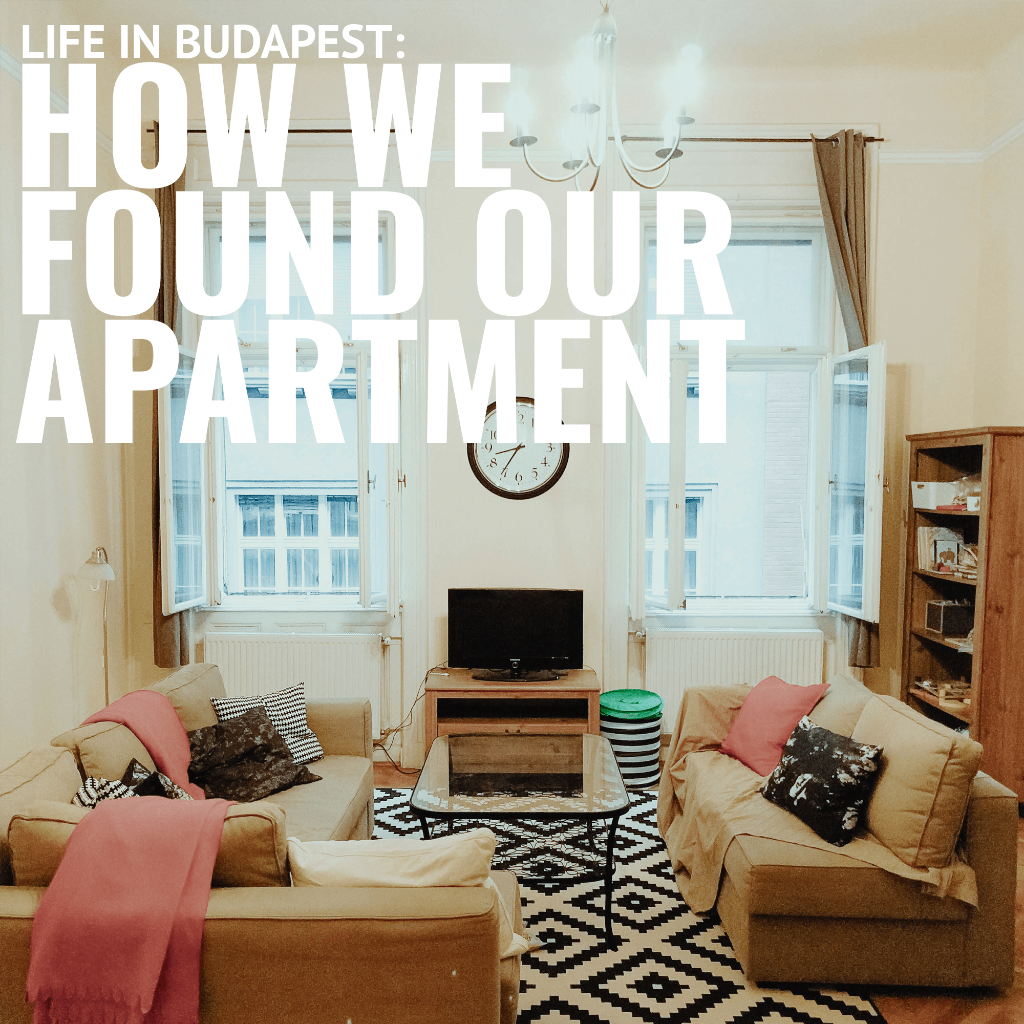 Find a flat in Budapest
