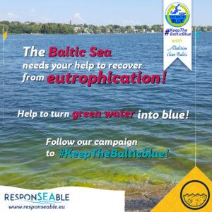 "Banner BEV ""Keep the Baltic blue"""