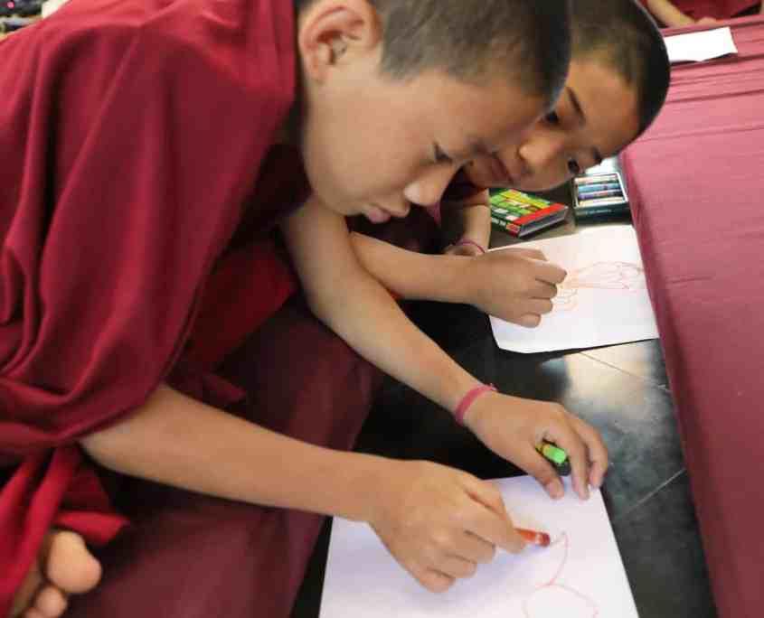 Children Monks Pneuma Breathwork 1