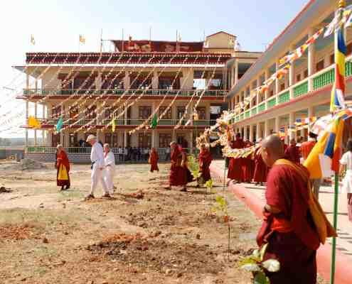 Gaden Shartse Tawon Khangtsen Monastery (January 2009), build with the support from Pneuma Institute and Juan Ruiz Naupari