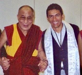 Juan & Dalai Lama