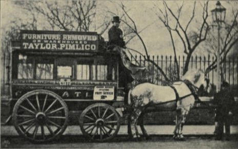 Transport in London in the early 1900s