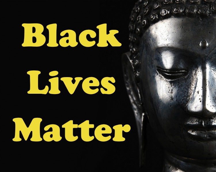 black lives matter buddha