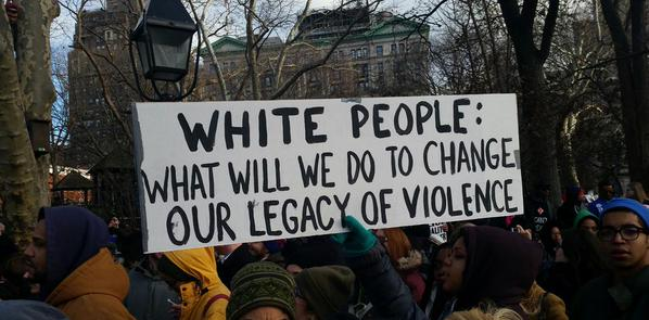 white people legacy of violence