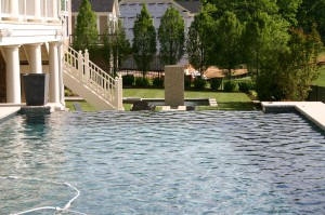 Swimming Pools & Spa Water Accents landscaping & design in Howard County, Baltimore, Carroll, Frederick & Montgomery counties.