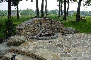 Fire pit design and construction in Howard County, Baltimore, Carroll, Frederick & Montgomery counties.