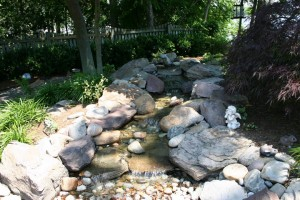 Water Garden landscaping & design in Howard County, Baltimore, Carroll, Frederick & Montgomery counties.