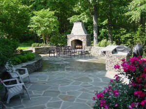 Patio construction & design with pavers in Howard County, Baltimore, Carroll, Frederick & Montgomery counties.