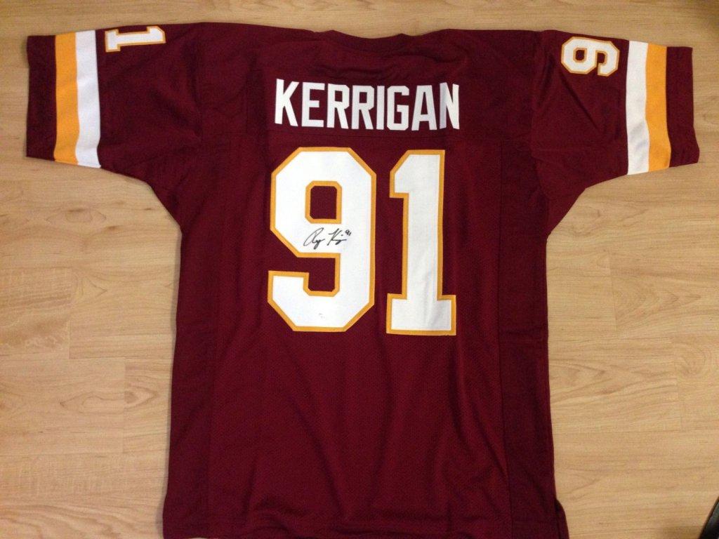 sale retailer 1f764 fb5bf Ryan Kerrigan Signed Washington Redskins maroon Jersey