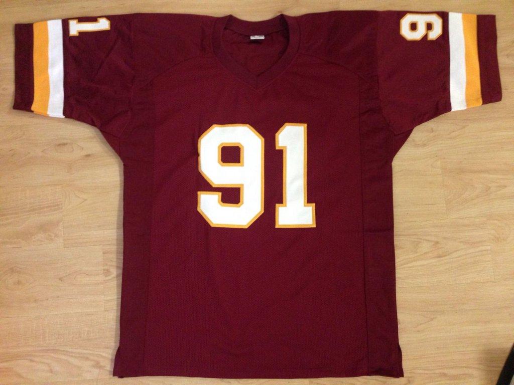 sale retailer 20b1d 0d292 Ryan Kerrigan Signed Washington Redskins maroon Jersey