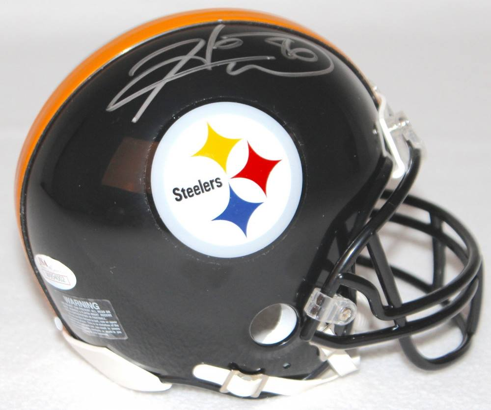 4c650d69dfd Hines Ward Signed Pittsburgh Steelers Mini-Helmet